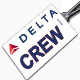 Delta Airlines Tag